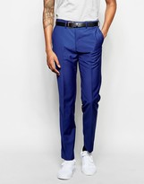 French Connection Bold Blue Suit Trousers
