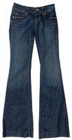 J Brand Distressed Wide-Leg Jeans w/ Tags