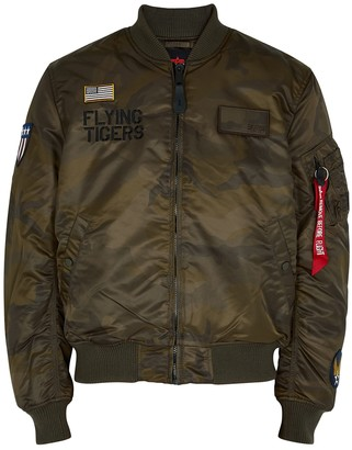 Alpha Industries MA-1 Flying Tigers Shell Bomber Jacket