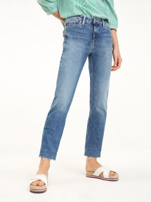 Tommy Hilfiger Rome Straight Fit Ankle Length Jeans