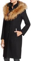 Mackage Mila Hooded Fur-Trim Coat