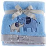 Just Born Blue Fleece Blanket