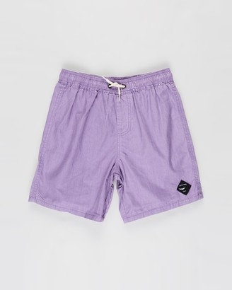 Cotton On Boy's Purple Shorts - Volly Shorts - Kids-Teens - Size 2 YRS at The Iconic