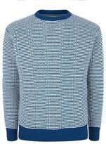 Richard James Zigzag Texture Knit Sweater
