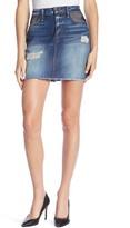 Good American Fishnet Mini Skirt (Regular & Plus Size)