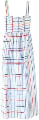 Mii Les Madras Dress in Blue