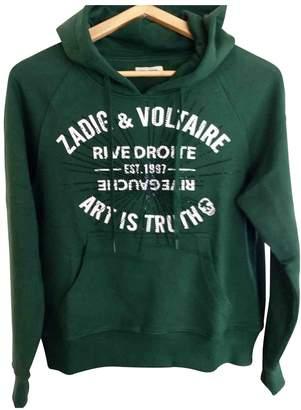 Zadig & Voltaire Spring Summer 2019 Green Cotton Knitwear for Women