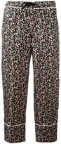 Moncler floral print cropped trousers