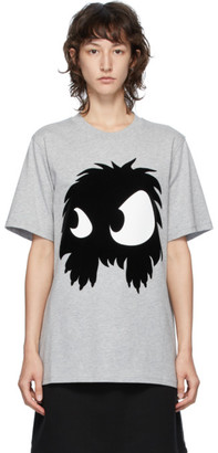 McQ Grey Swallow Chester Monster T-Shirt
