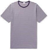 Sunspel Slim-fit Striped Cotton T-shirt