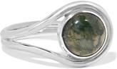 Pamela Love Lasso Silver Agate Ring - 8