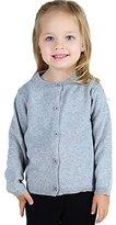 Wennikids Baby Girls' Little Knit Cardigan Button Sweater for 12M-4T Medium