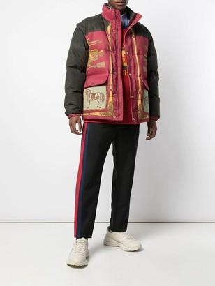 Gucci Printed Puffer Jacket
