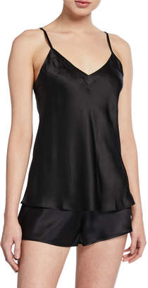 Ginia Core Silk V-Neck Camisole