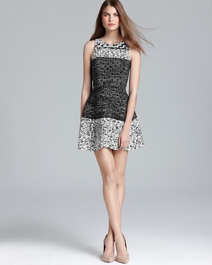 Parker Dress - Janessa Mesh Panel