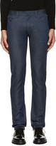 Calvin Klein Collection Blue Graft Jeans