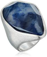 "Robert Lee Morris Cool As Ice"" Mixed Stone Sculptural Stone Sculptural Ring, Size 7.5"