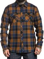 Sullen Clothing Sullen Wrench Button Up Plaid Flannel (2XLarge, )