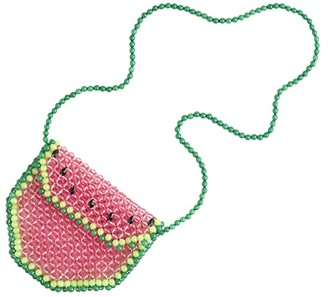crewcuts by J.Crew Crossbody Watermelon Beaded Bag (Watermelon Multi) Cross Body Handbags