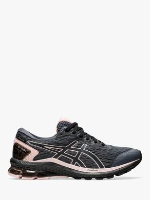 Asics GT-1000 9 Women's Gore-Tex Running Shoes, Carrier Grey/Ginger Peach