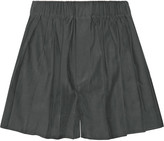 Rag & Bone Holten pleated twill shorts