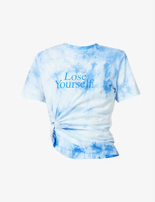 Paco Rabanne Lose Yourself tie dye-print cotton-jersey T-shirt