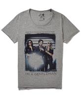 Solid !Solid Gentleman Print T-Shirt