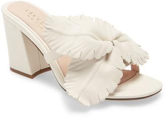 Cecelia New York Hibiscus Slide Sandal
