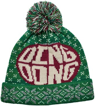 San Diego Hat Co. Ding Dong Knit Cap with Pom Pom