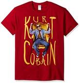 FEA Men's Kurt Cobain Sitting Chair Photo Mens T-Shirt