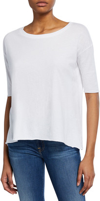 Frank And Eileen Core Elbow-Sleeve Cotton Tee