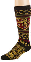 Asstd National Brand Harry Potter Gryffindor Men's Sweater Socks