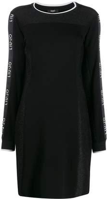 Liu Jo glitter details fitted dress