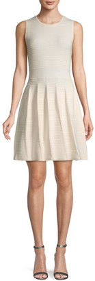 Saks Fifth Avenue Pleated Fit-&-Flare Dress