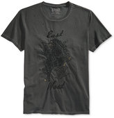GUESS Men's Embroidered T-Shirt