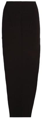 Rick Owens Asymmetric Midi Skirt