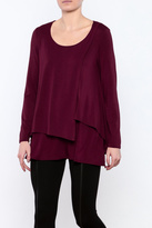 Michael Tyler Collections Layered Tunic Top