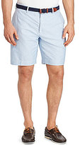 Polo Ralph Lauren Big & Tall Newport Flat-Front Cotton Solid Oxford Shorts