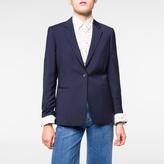 Paul Smith Women's Navy Virgin Wool Blazer