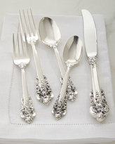 Wallace 66-Piece Grande Baroque 75th Anniversary Flatware Service