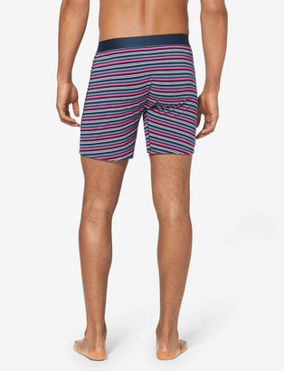 Tommy John Cool Cotton Relaxed Fit Boxer, Stripe