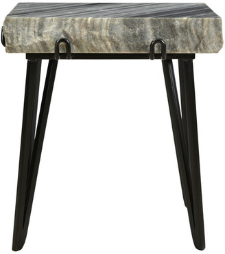 Moe's Home Collection Alpert Accent Table, Dark Gray
