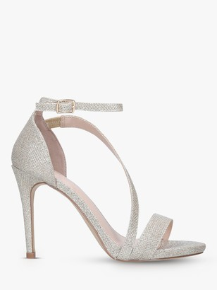 Carvela Libertine Strappy Stiletto Heeled Sandals, Gold