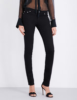 Givenchy Star-printed low-rise skinny jeans
