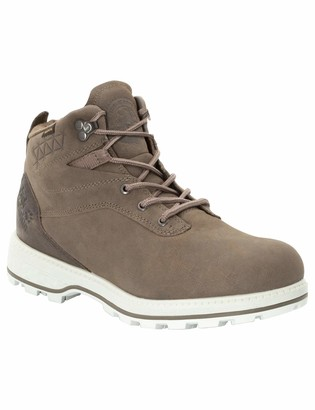 Jack Wolfskin Men's Jack Ride Texapore MID Waterproof Oiled Leather Boot Combat