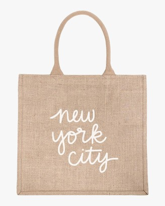 The Little Market New York City Large Shopping Tote