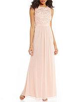 Blush Chiffon Bridesmaids Dress Shopstyle