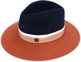 Maison Michel bi-colour felt hat - women - Cotton - S