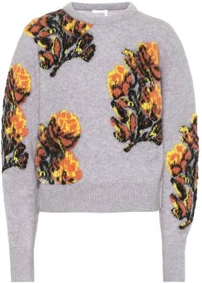 Chloé Wool and alpaca-blend sweater