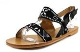 Report Zasha Open-toe Leather Slingback Sandal.